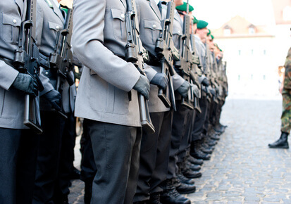 Soldaten - Ausbildung bei der Bundeswehr