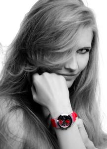 Armbanduhr im Job