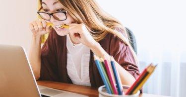 Fernstudium lernen Studentin