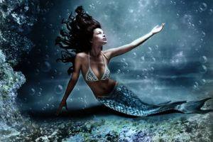Beruf Meerjungfrau