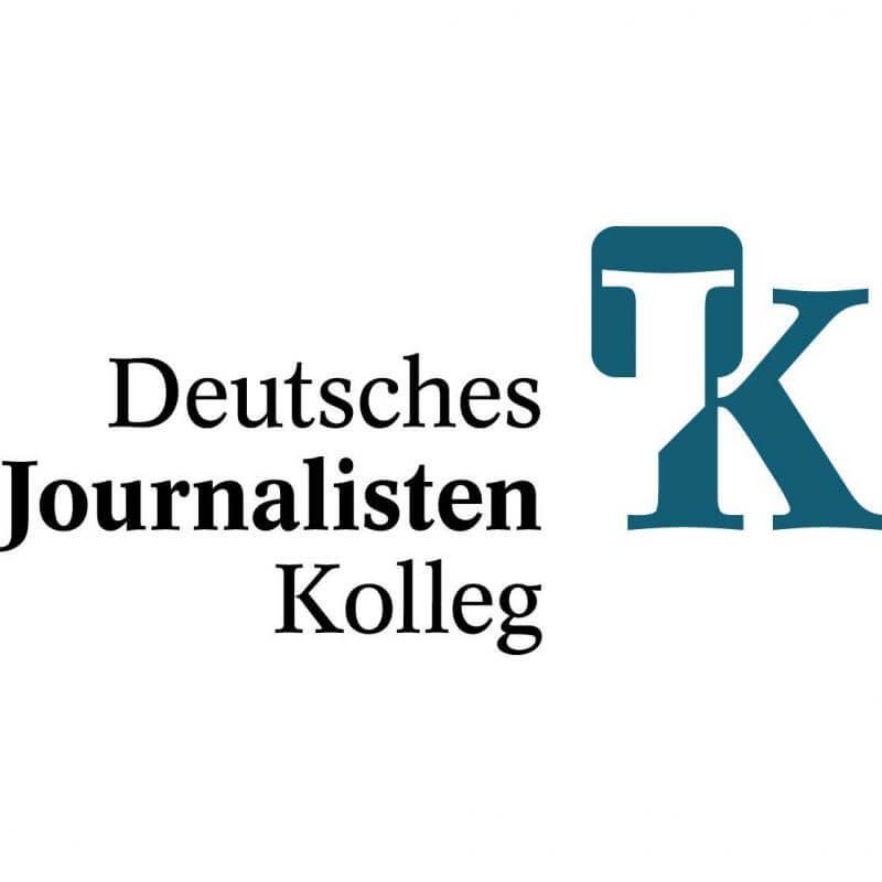 Logo deutsches Journalistenkolleg - Ein Fernstudium Journalismus ist hier möglich!