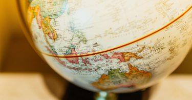 Bild eines Globusses