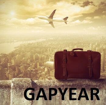 Flugzeug und Koffer