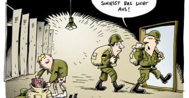 Praktikum und Bundeswehr