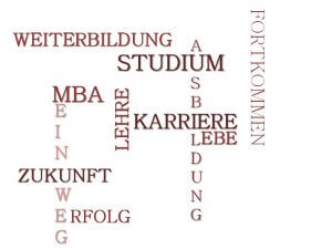 Crossword Ausbildung Studium MBA