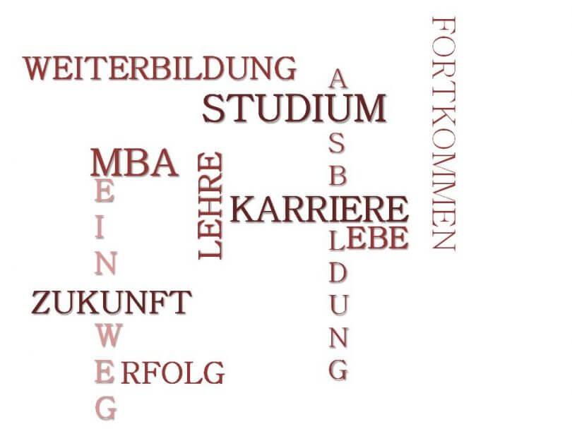 Crossword Ausbildung Studium MBA
