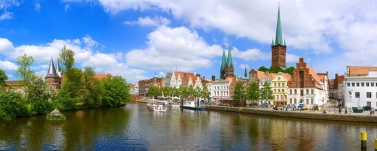 Panorama Lübeck