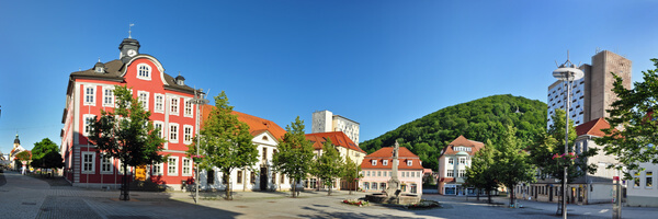 Panorama von Suhl