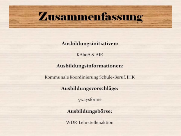 Zusammenfassung der genannten Hilfen in NRW