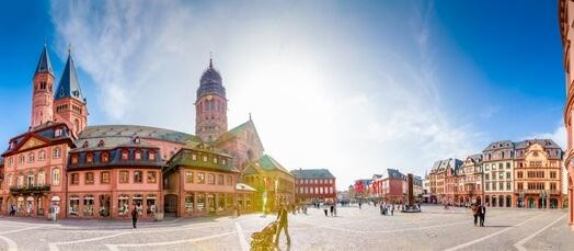 Mainz, Domplatz