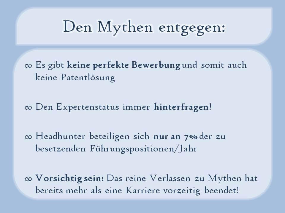 Den Mythen entgegen