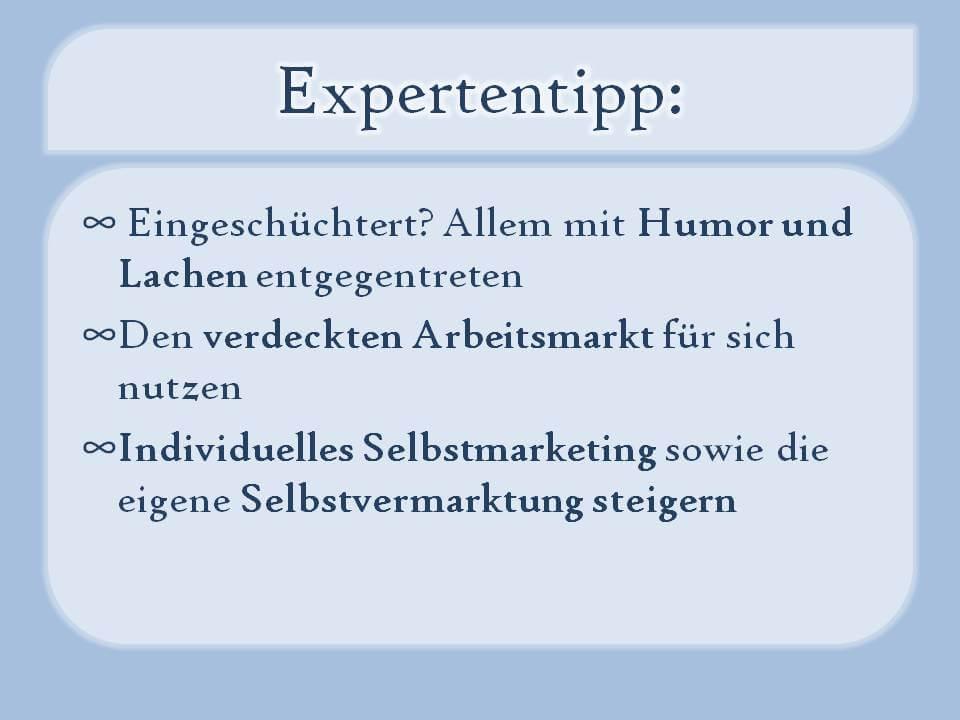 Die Expertentipps