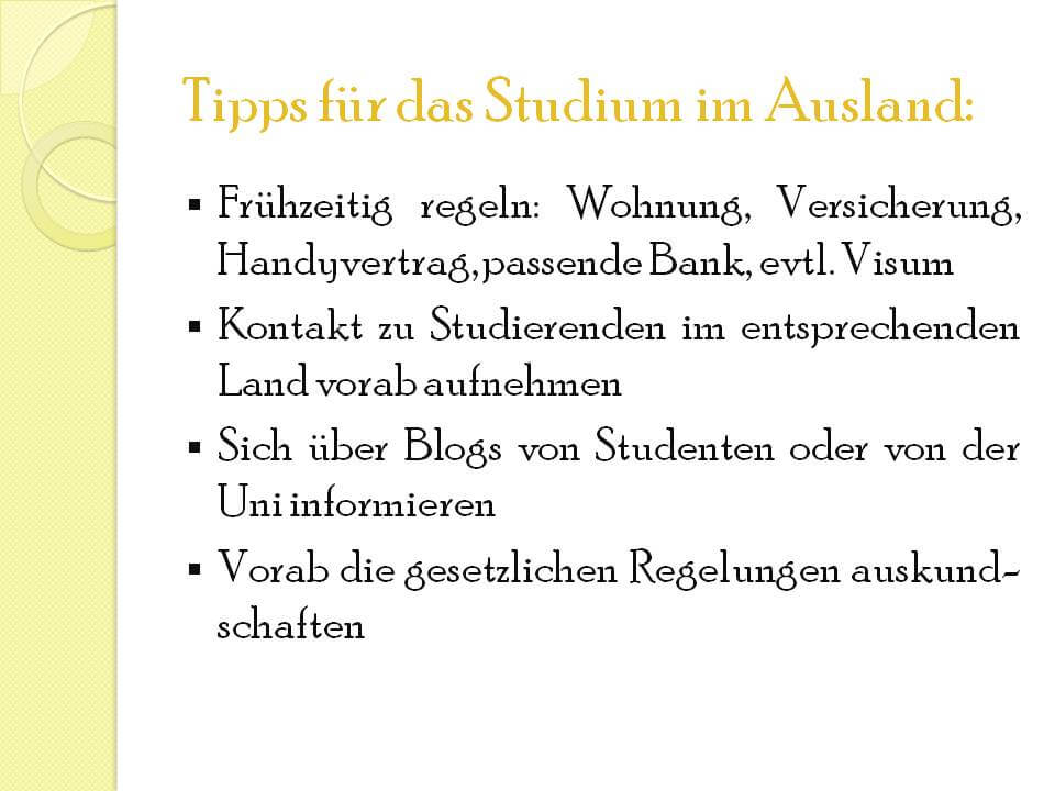 Tipps für das Studieren in Stockholm