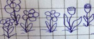 Was das Kritzeln von Blumen und Blümchen über die eigene Persönlichkeit aussagt