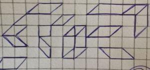 Was das Kritzeln von geometrischen Figuren und geraden Linien über die Persönlichkeit aussagt