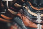 Reihe an Business Schuhen für Männer