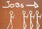 Kandidatenschlange für den nächsten Job Interview Special