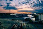 Flughafen: im Ausland arbeiten