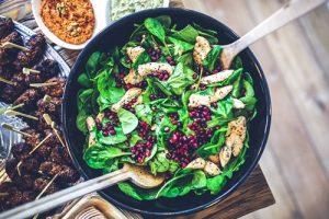 Salat Hähnchen Granatapfel