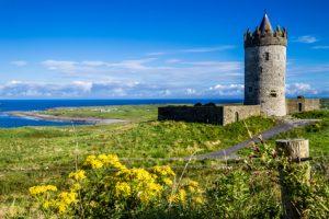 Arbeiten in Irland: Doolin Castle