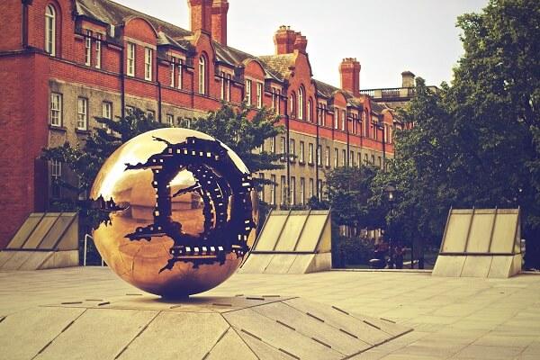 Trinity College in Dublin - Arbeiten in Irland