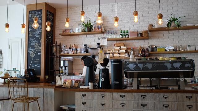 Saisonarbeit Cafe
