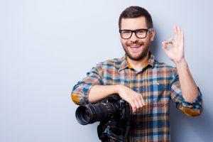 Bewerbungsfotos selbst aufnehmen und ausdrucken - Fotograf