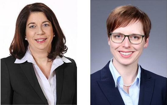 Alexandra Dantmann und Dr. Stefanie Lurz