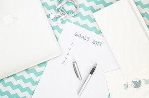gute Vorsätze - Goals 2017