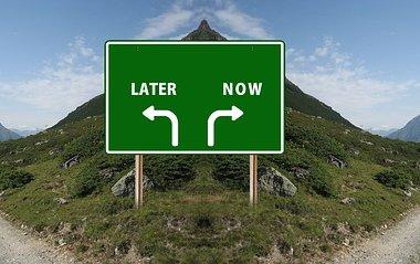Prokrastination zwei Wege