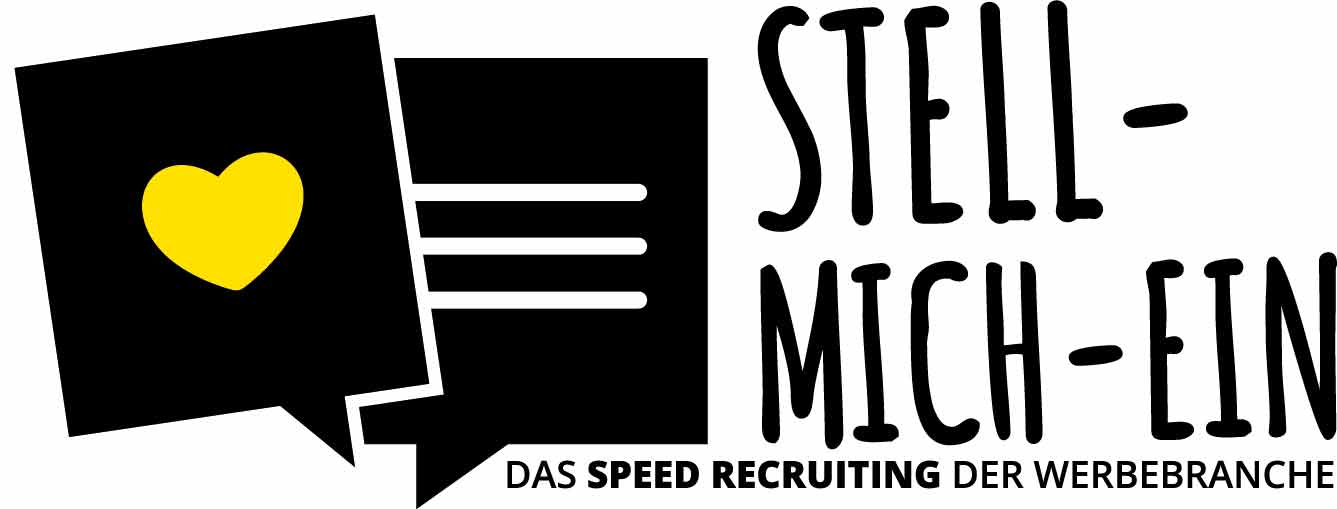 Stell-Mich-Ein Speed-Recruiting Logo