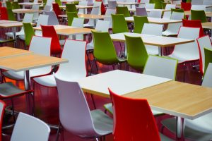 Mensa-Stühle
