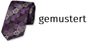 Krawatte mit Muster | karriereguru