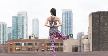 Yoga Übung für den Arbeitsplatz