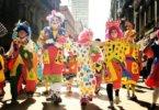 Clowns an Karneval