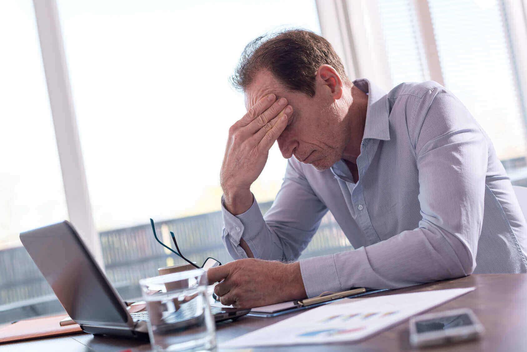 Burnout im Büro