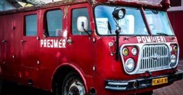 Freiwilligendienst Ausland Feuerwehrauto