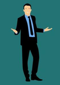 Businessmann im Anzug Businessmann im Anzug trägt Business Dresscode Business Attire