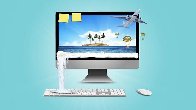Arbeiten im Ausland Bildschirm